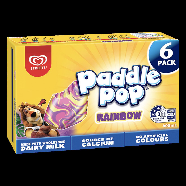 Paddle Pop Rainbow Multipack
